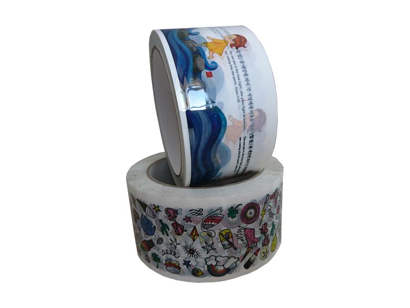 Скотч (Клейкая лента) с логотипом межслойная печать