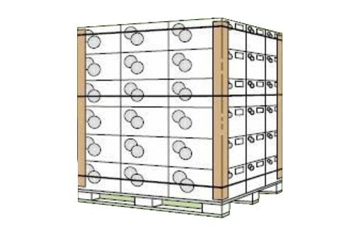 Уголки картонные  / защитные уголки